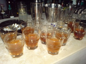 Believe it or not, these were shots!